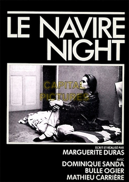 POSTER ART.in Le Navire Night .*Filmstill - Editorial Use Only*.CAP/NFS.Supplied by Capital Pictures.