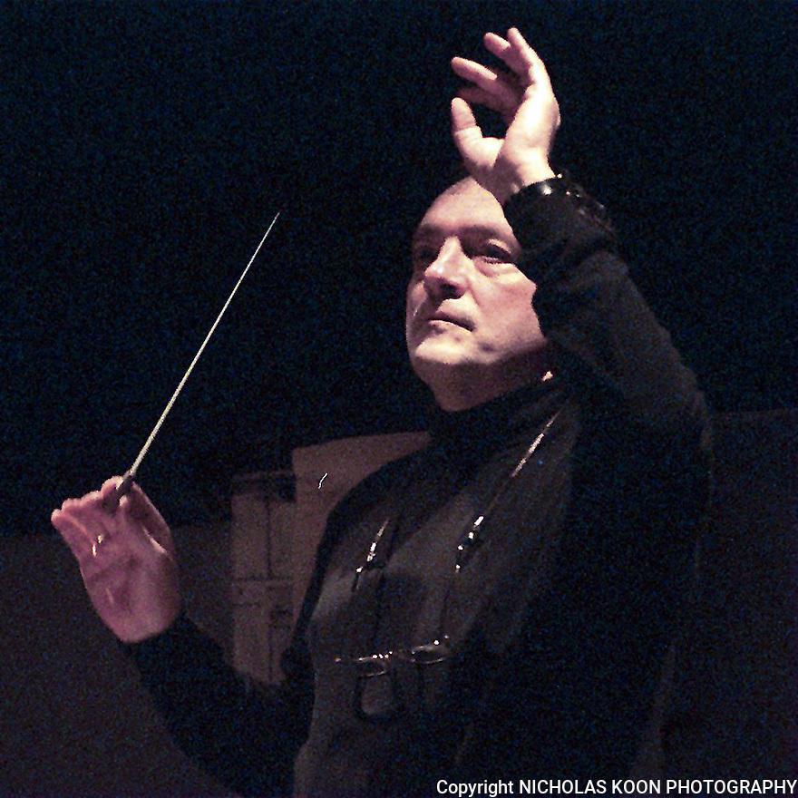 Opera Pacific Maestro John DeMain.