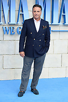 "Andy Garcia<br /> arriving for the ""Mama Mia! Here We Go Again"" World premiere at the Eventim Apollo, Hammersmith, London<br /> <br /> ©Ash Knotek  D3415  16/07/2018"
