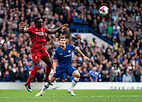Sadio Mane of Liverpool during the Premier League match between Chelsea and Liverpool at Stamford Bridge, London, England on 22 September 2019. Photo by Liam McAvoy / PRiME Media Images.