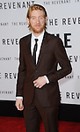 Domhnall Gleeson arriving at the world premiere of The Revenant held at TCL Chinese Theater Hollywood, CA. December 16, 2015.