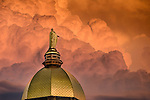 6.20.16 Dome and Clouds.JPG by Matt Cashore/University of Notre Dame