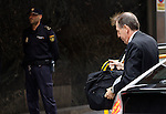 "Madrid,Spain - 16 10 2014- ""politics""- scandal black cards Caja Madrid- Ildefonso Sanchez Barcoj, former managing Director of Caja Madrid arrives to testify at the national audience by reference to the scandal of the black cards (Foto Guillermo Martinez / Bouza Press)"