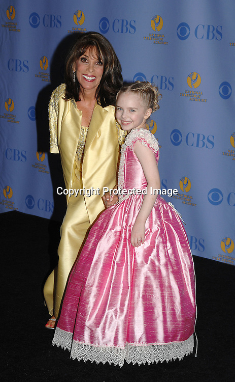 Kate Linder and Darcy Rose Byrnes..posing for photographers in the Press Room at The 34th Annual Daytime Emmy Awards on June 15,2007 at The ..Kodak Theatre in Hollywood, California. ..Robin Platzer, Twin Images......212-935-0770
