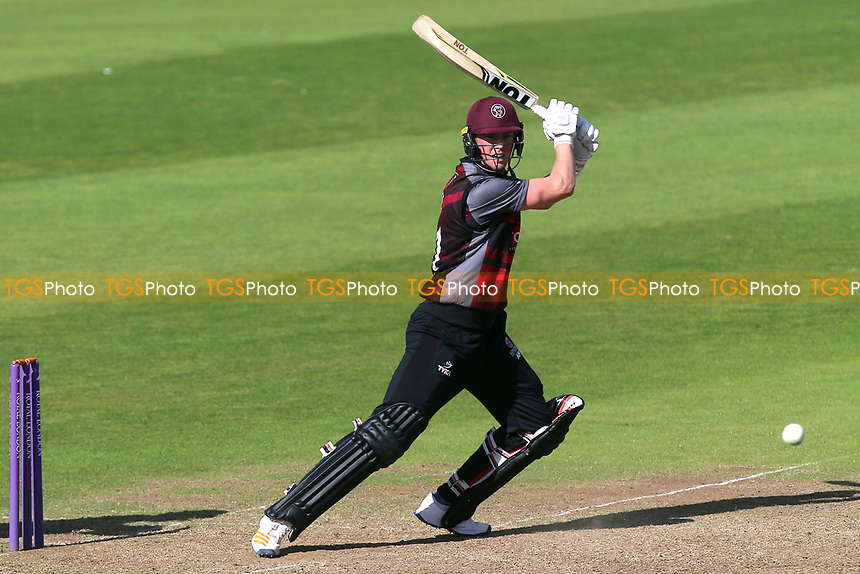 Adam Hose in batting action for Somerset during Somerset vs Essex Eagles, Royal London One-Day Cup Cricket at The Cooper Associates County Ground on 14th May 2017