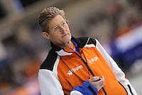 SCHAATSEN: CALGARY: Olympic Oval, 10-11-2013, Essent ISU World Cup, Jillert Anema (trainer/coach Schaatsteam BAM), ©foto Martin de Jong