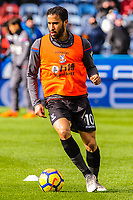Crystal Palace's midfielder Andros Townsend (10) during the EPL - Premier League match between Huddersfield Town and Crystal Palace at the John Smith's Stadium, Huddersfield, England on 17 March 2018. Photo by Stephen Buckley / PRiME Media Images.