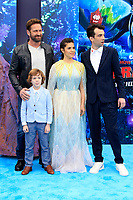 "LOS ANGELES - FEB 9:  Gerard Butler, AJ Kane, America Ferrera, Jay Baruchel at the ""How To Train Your Dragon: The Hidden World""  Premiere at the Village Theater on February 9, 2019 in Westwood, CA"