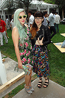 Ashley Campbell, Katherine Campbell==<br /> LAXART 5th Annual Garden Party Presented by Tory Burch==<br /> Private Residence, Beverly Hills, CA==<br /> August 3, 2014==<br /> ©LAXART==<br /> Photo: DAVID CROTTY/Laxart.com==
