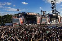 Festivalbesucher auf dem 28. Wacken Open Air Festival - W:O:A 2017. Wacken, 05.08.2017