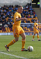Nicky Law in the Motherwell v St Johnstone Clydesdale Bank Scottish Premier League match played at Fir Park, Motherwell on 28.4.12.