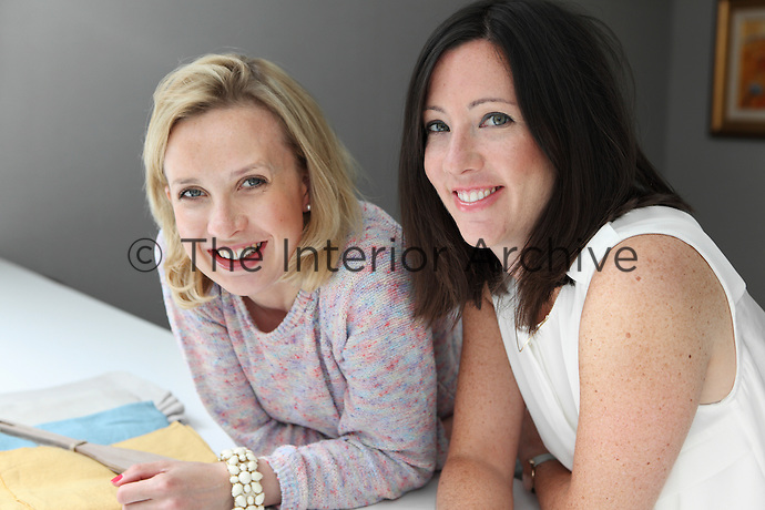 Founders of London based creative design studio Amory Brown: Hannah Brown  and Lucy Heathcoat Amory