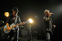LONDON, ENGLAND - SEPTEMBER 8: Dave Stewart and Jon Stevens performing at Shepherd's Bush Empire on September 8, 2017 in London, England.<br /> CAP/MAR<br /> &copy;MAR/Capital Pictures