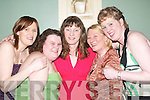 Girls night out: In Fitzgeralds Restaurant, Listowel, on Saturday night were Angie Dillon, Lyreacrompane, Claire Geraghty, Catherine McGarry, Sheila Murphy and Catherine McElligott, Listowel..