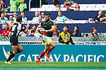 Uruguay vs Mexico during their HSBC Sevens Wold Series Qualifier match as part of the Cathay Pacific / HSBC Hong Kong Sevens at the Hong Kong Stadium on 27 March 2015 in Hong Kong, China. Photo by Juan Manuel Serrano / Power Sport Images