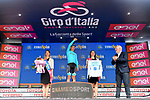 Miguel Angel Lopez Moreno (COL) Astana Pro Team retains the young riders Maglia Bianca at the end of Stage 4 of the 2019 Giro d'Italia, running 235km from Orbetello to Frascati, Italy. 14th May 2019<br /> Picture: Gian Mattia D'Alberto/LaPresse | Cyclefile<br /> <br /> All photos usage must carry mandatory copyright credit (© Cyclefile | Gian Mattia D'Alberto/LaPresse)