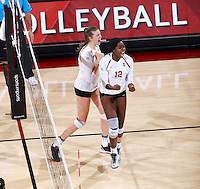 STANFORD, CA; November 23, 2016; Women's Volleyball, Stanford vs Oregon.