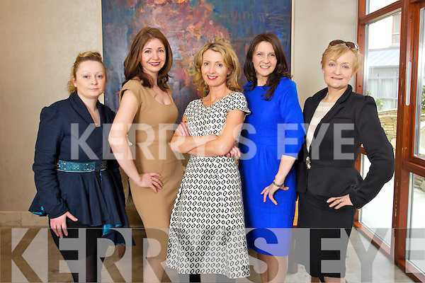 Pictured at the launch of Kerry Fashion weekend in the Carlton hotel on Friday were l-r: Orla O'Connor (Orla O'Connor Designs) Carol Kennelly, Carol Kennelly Millinery, Orla Diffily, Upfront PR, Tina Griffin, Tina Griffin Designs and Breda Galwey (Hatsahead).
