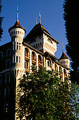 Caux, Switzerland. Mountain House (Caux Palace) MRA (Moral Re-Armament) conference centre for peace.