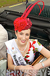 Kerry Rose Gemma Kavanagh pictured at the new Tralee Bypass Road at the Rose of Tralee on Friday.