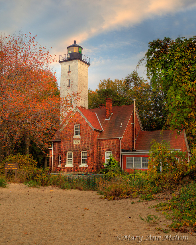Presque Isle Lighthouse, Presque Isle State Park, Erie, Pennsylvania