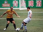 SCC Tigers vs HKFC Chairman's Select during the Day 3 of the HKFC Citibank Soccer Sevens 2014 on May 25, 2014 at the Hong Kong Football Club in Hong Kong, China. Photo by Xaume Olleros / Power Sport Images