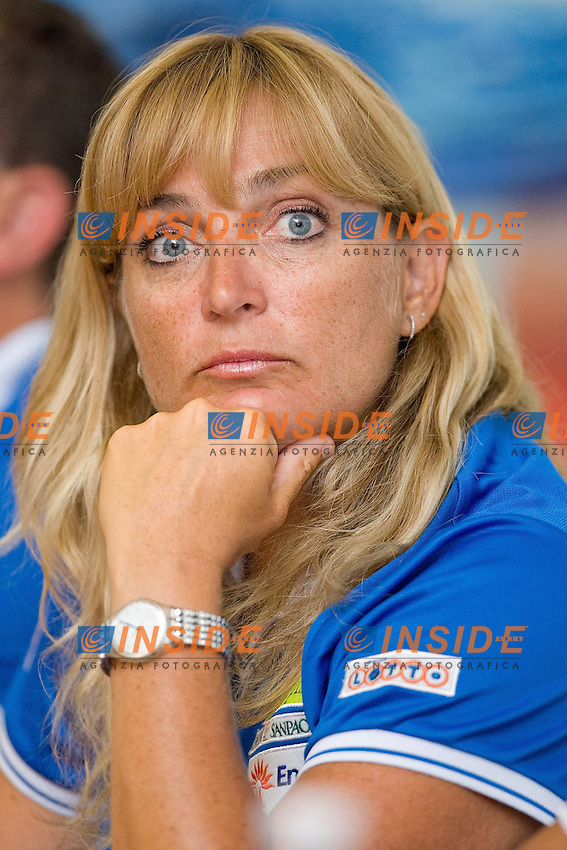 Roma 16th July 2009 - 13th Fina World Championships From 17th to 2nd August 2009..Italian National Team Press conference..Laura De Renzi Coach Italian sinchro national team..photo: Roma2009.com/InsideFoto/SeaSee.com