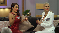 Jess Impiazzi &amp; Ashley James<br /> Celebrity Big Brother 2018 - Day 1<br /> *Editorial Use Only*<br /> CAP/KFS<br /> Image supplied by Capital Pictures