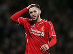 Adam Lallana of Liverpool reacts - FA Cup Fourth Round replay - Bolton Wanderers vs Liverpool - Macron Stadium  - Bolton - England - 4th February 2015 - Picture Simon Bellis/Sportimage