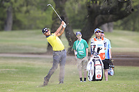Hideki Matsuyama (JPN) on the 1st during the 1st round at the WGC Dell Technologies Matchplay championship, Austin Country Club, Austin, Texas, USA. 22/03/2017.<br /> Picture: Golffile | Fran Caffrey<br /> <br /> <br /> All photo usage must carry mandatory copyright credit (&copy; Golffile | Fran Caffrey)