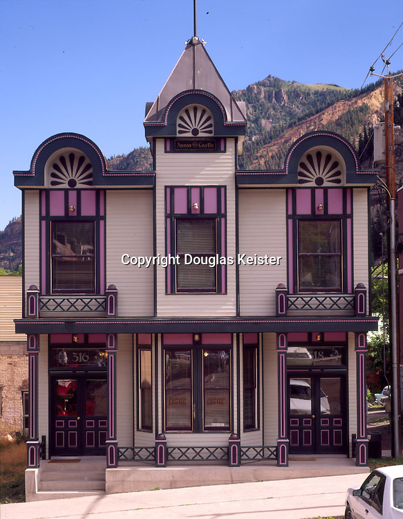 Anna's Castle.316-318 6th St.Ouray, CO