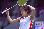 Nozomi Okuhara (JPN), <br /> AUGUST 22, 2018 - Badminton : Women's Team Final match between China 1-3 Japan at Gelora Bung Karno Istora during the 2018 Jakarta Palembang Asian Games in Jakarta, Indonesia. <br /> (Photo by MATSUO.K/AFLO SPORT)