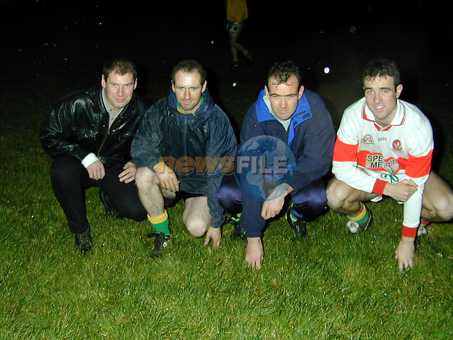 Sydden GFC.John Foy, Andrew Kane, Joseph Dillon and Stephen Dillon.Picture by Fran Caffrey Newsfile