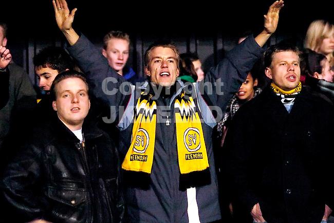 voetbal seizoen 2007-2008 veendam - telstar  09-11-2007.veendam fans.fotograaf: Jan Kanning