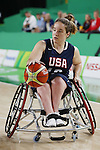 Rebecca Murray (USA),<br /> SEPTEMBER 16, 2016 - Wheelchair Basketball : <br /> Women's Final match between USA 62-45 Germany<br /> at Rio Olympic Arena<br /> during the Rio 2016 Paralympic Games in Rio de Janeiro, Brazil.<br /> (Photo by Shingo Ito/AFLO)