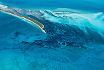 Aerial of Bimini Islands, Great Bahamas Bank, Bahamas