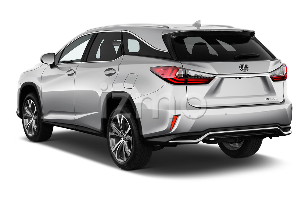 Car pictures of rear three quarter view of 2018 Lexus RX 350L-4x2 5 Door SUV Angular Rear