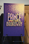 Poster for the Meet & Greet for the Manhattan Theatre Club's Broadway Premiere of 'Prince of Broadway' at the MTC Studios on July 20, 2017 in New York City.