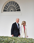 United States Vice President Joe Biden and Dr. Jill Biden leave the White House for the final time as the nation prepares for the inauguration of President-elect Donald Trump on January 20, 2017 in Washington, D.C.  Trump becomes the 45th President of the United States.   <br /> Credit: Kevin Dietsch / Pool via CNP