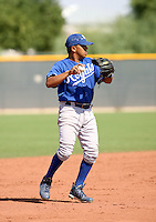 John Alfaro / Kansas City Royals 2008 Instructional League..Photo by:  Bill Mitchell/Four Seam Images