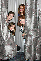 LOS ANGELES - AUG 20:  Alex Wyse, Courtney Grosbeck, Courtney Hope, Patrika Darbo at the Bold and the Beautiful Fan Event 2017 at the Marriott Burbank Convention Center on August 20, 2017 in Burbank, CA