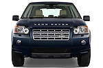 Straight front view of a 2009 Land Rover LR2 HSE