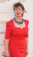 Celia Imrie at The Old Vic Bicentenary Ball held at The Old Vic, The Cut, Lambeth, London, England, UK on Sunday13 May 2018.<br /> CAP/MV<br /> &copy;Matilda Vee/Capital Pictures