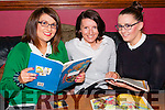"Sisters Jacinta, Julette and  Sharon Murphy from Abbeyfeale at the Rembering Zoe, ""Back 2 School"" themed party held last Sunday night in the Railway Bar Abbeyfeale."