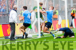 Darren O'Sullivan Scores Kerry's first goal against Dublin in the All Ireland Senior Football Semi Final at Croke Park on Sunday.
