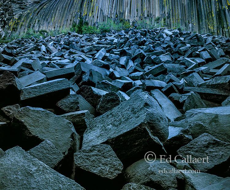 Devil's Postpile National Monument, Inyo National Forest, Eastern Sierra, California