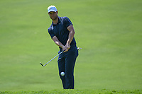 Lucas Bjerregaard (DEN) chips on to 12 during round 4 of the World Golf Championships, Mexico, Club De Golf Chapultepec, Mexico City, Mexico. 2/24/2019.<br /> Picture: Golffile | Ken Murray<br /> <br /> <br /> All photo usage must carry mandatory copyright credit (© Golffile | Ken Murray)
