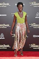 "04 April 2016 - Hollywood, California - Lupita Nyong'o. ""The Jungle Book"" Los Angeles Premiere held at the El Capitan Theatre. Photo Credit: Sammi/AdMedia"