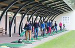 LOCHEM -   drukte op de Driving Range Lochemse Golf Club De Graafschap. COPYRIGHT KOEN SUYK