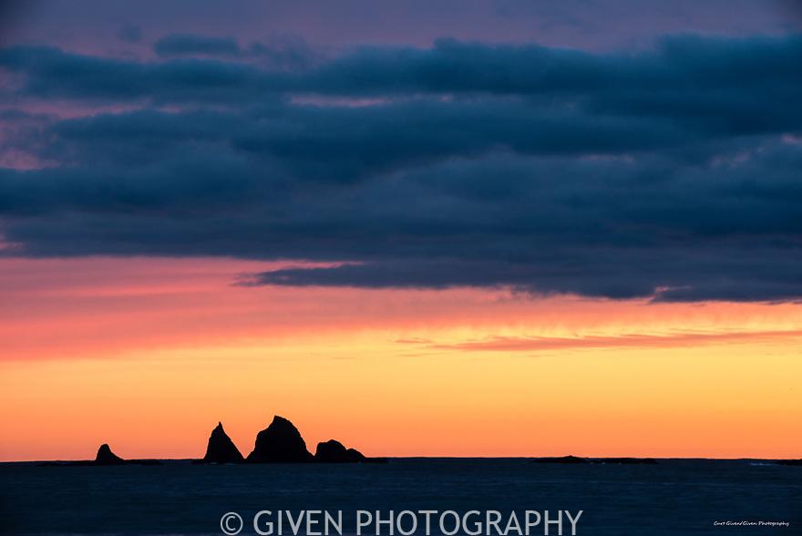 Sunset, Olympic National Park, Washington